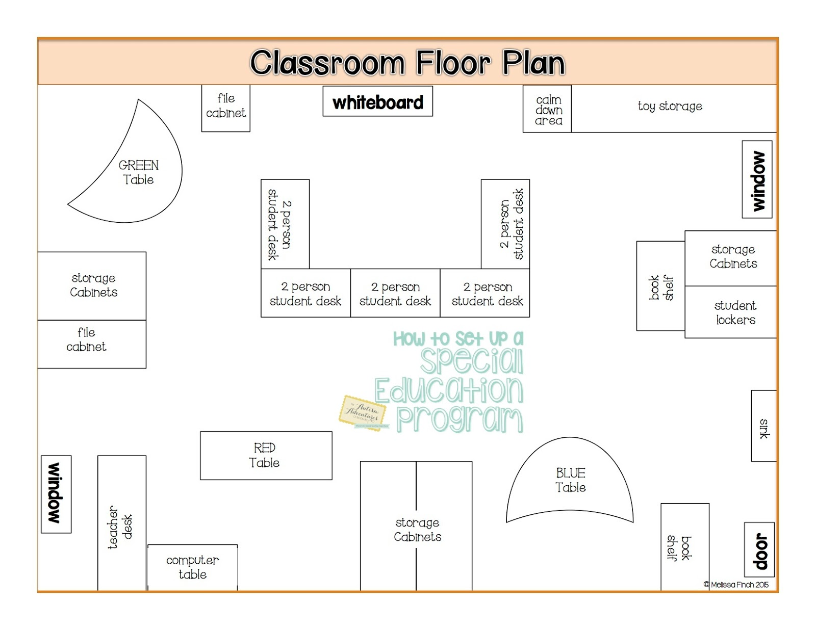 How To Set Up A Special Education Program Floor Plans Autism Adventures